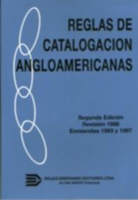 reglas angloamericanas de catalogacion